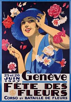 Genf, Fest der Blumen. 1927