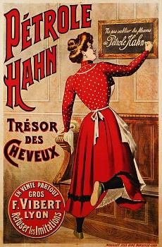 Pétrole Hahn. Um 1910