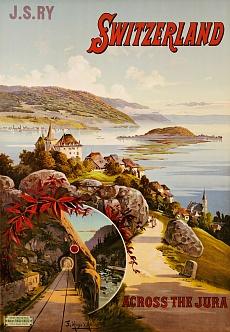 Durch das Schweizer Jura-Gebirge. Um 1910