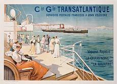 Cie. Gle. Transatlantique. Um 1910