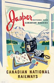 Jasper, Canadian National Railways