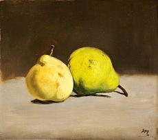 Zwei Birnen. 1864