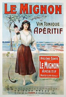 Le Mignon. Um 1910