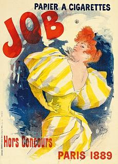 Job, papier à cigarettes. 1895