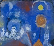 Paul Klee, Landschaft der Vergangenheit. 1918
