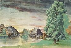 Albrecht Dürer, Die Weidenmühle. Um 1506