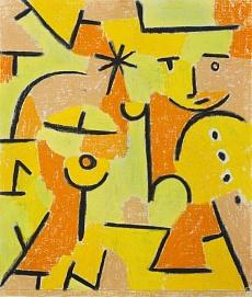 Paul Klee, Figur in gelb. 1937