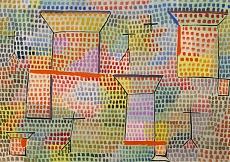 Paul Klee, Kreuze und Säulen. 1931