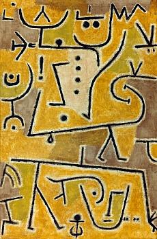 Paul Klee, Rote Weste. 1938