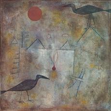 Paul Klee, Krähenlandschaft. 1925