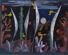 Paul Klee, Landschaft mit gelben Vögeln. 1923