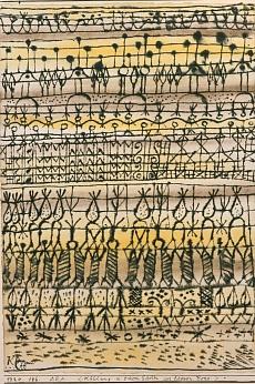 Paul Klee, ARA. Kühlung in einem Garten der heissen Zone. 1924