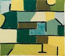 Paul Klee, Grün im Grün. 1937