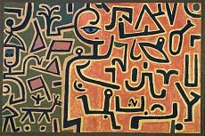 Paul Klee, Vorhaben (Entwurf). 1938