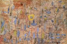 Paul Klee, Spärlich belaubt. 1934