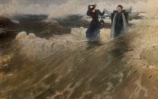 Kunst Tapete aus dem Realismus - Ilja Efimowitsch Repin, Welche Freiheit!