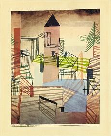 Paul Klee, Festungsbau. 1921