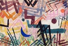 Paul Klee, Spiel der Kräfte einer Lechlandschaft. 1917