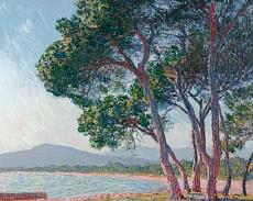 Claude Monet, Der Strand bei Juan-les-pins. 1888