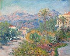Claude Monet, Strada Romana in Bordighera. 1884
