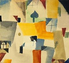 Paul Klee, Fenster. 1919