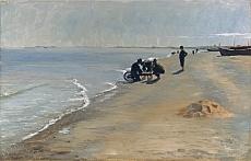 Peter Severin Kroyer, Südstrand bei Skagen. 1884