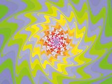 Design-Serie Farb-Sterne 1