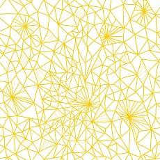Netzmuster in Gelb