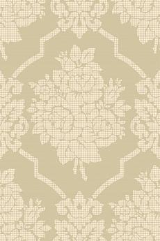 Rosen im Damask Pattern