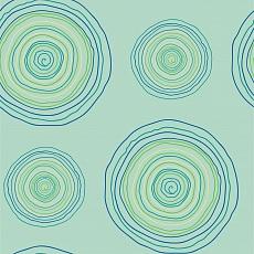grüne und blaue Kreise