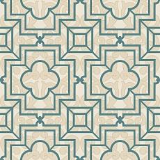 ausgefallenes Muster auf hellem Ornament