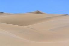 Farbspiel auf den Dünen