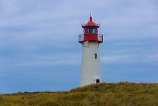 Leuchturm List-Ost auf der Insel Sylt in Schleswig-Holstein