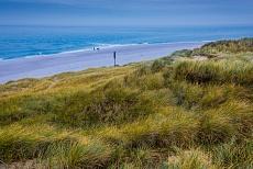 Dünen Strand auf der Insel Sylt