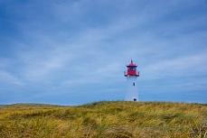 Leuchturm List-Ost in Sylt, Schleswig-Holstein