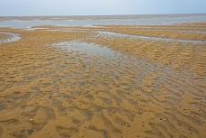 Wattenmeer und Rantumer Dünen vor der Nordseeküste