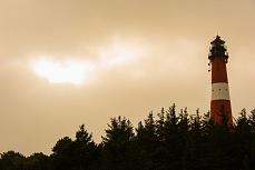 Leuchturm bei Witterung, Sylt Hörnum