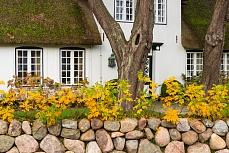 Reetdachhaus - fotografiert in Sylt Keitum