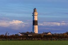 Nordfriesischer Leuchtturm, fotografiert in Sylt Kampen