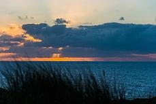 Sonnenuntergang in der Uwe-Düne Sylt