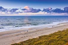 Sylter Himmel und See - am Sylter Strand Kampen