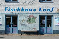 Fischhaus Loof an der nordfriesischen Festlandküste Husum