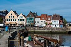 Blick von der Festlandküste Husum, Schleswig Holstein