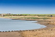 Strandabschnitt bei Steenodde, Amrum