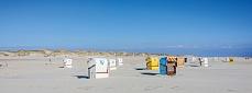 Ein Meer aus Strandkörben - Insel Amrum