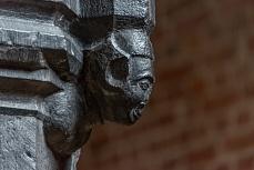 Detailansicht aus der neuen Kirche auf Pellworm