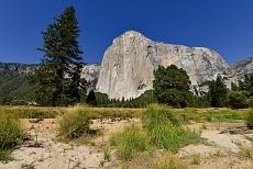 El Capitan Wall im Yosemite-Nationalpark