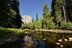 El Capitan im Yosemite National Park in Kalifornien in der USA