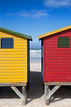 Muizenberg Beach Huts I