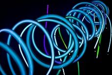 Blue Spirals II